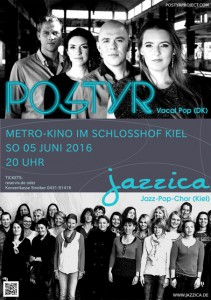 Plakat Jazzica Postyr 2016